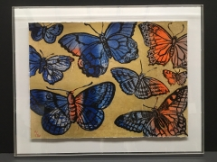 David Bromley - Gold Butterflies