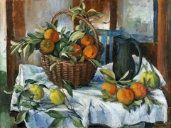 margaret-olley-basket-of-oranges-lemnos-and-jug-2011