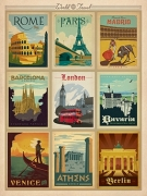 world-travel-europe-postcards
